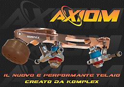 Axiom Plate - NEW Great for Dance and Singles.