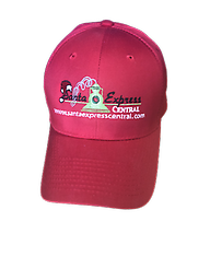 Santa Express Central Hat Santa Express Central Twill hat is a classic, mid-profile hat, adjustable Velcro closure is an added plus to find that perfect fit