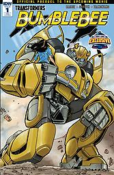 Transformers: Bumblebee Issue #1 Transformers: Bumblebee Bell County Comic Con Variant Cover Issue #1