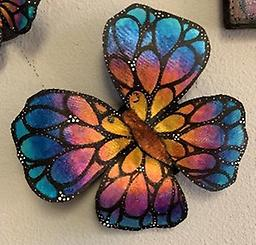Blooming Butterfly Painting Class July 24th 11:00am-1pm Create this stunning 3D Butterfly in the studio!!