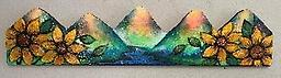 Columbine/Sunflower Mountain Bloom July 24th Friday 11:00am -1pm A fun and unique class creating a vibrant 3D Mountain Painting!!