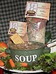 Beefy Vegetable Soup - A warm and satisfying beef broth soup! Vegetables included are carrots, potatoes and celery.