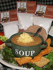 "Cheesy Tortilia Soup The name speaks for itself with the ""south of the border flair"". A true hit for the spicy at heart."