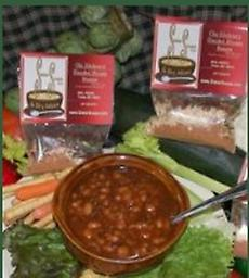 Smoke HOuse Beans Good ole' Smokehouse Campfire beans…The longer they simmer, the better they get!! 2 servings per bag which calls for 3 cans of pork'n beans each.