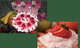 Strawberry Kisses Natural Strawberry Dip Mix has the sweet taste of strawberries! This versatile mix is perfect for dipping fruit, crackers and pretzels, but can also be added to your favorite dessert recipes.