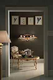 Art.1678 Wall Lamp Delicate light points to enhance an important room.