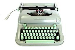 Hermes Media 3 Collectible Portable Typewriter