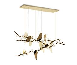 ALMOND SUSPENSION LAMP Falling in love with the magical ALMOND TREE, Portugal designers conceived this organic suspension lamp to bloom forever in your decor' space.