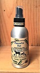 PEACEFUL PET Mist - Dogs, Cats, Horses & Rabbits - 25% off Soothes Nerves & Calms Anxieties- Lavender, Cedarwood, Chamomile & Frankincense --- ORGANIC - VEGAN - BIODEGRADABLE - NON GMO - 100% PURE ESSENTIAL OILS
