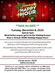 DDBC December Virtual Holiday Happy Hour 12.8.2020 - What better way to get in to the Holiday season than a Virtual Holiday Happy Hour!