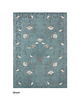 Dreams White Daisy Area Rugs - Fibre composition: 100% new wool Back: Cotton