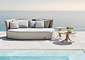 ISLA - OUTDOOR Furniture - ISLA is a versatile and attractive outdoor collection the German designer explores the concept of modularity and outdoor living, through com- fortable volumes and irregular shapes.