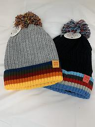 Winter Hat for Boys Play all day winter hat. Choose from black or gray top. Price is for one hat.