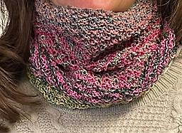 Canoodle Cowl One skein Uneek Cotton Enter color number in notes. Printed pattern included