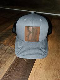 Houndlife Patch Hat Leather Patch, Richardson Hat