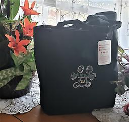 Tote Bag with Mayder Falk Dachshund Logo Nice quality tote bag with our Logo for all your puppies travel needs while on the go.