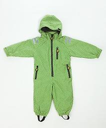 "Ducksday ""All-Weather"" Rainsuit (Funky Green) The original Ducksday rainsuit. Our rainsuits provide a flexible solution for any weather. A must have for little ones in the outdoors."