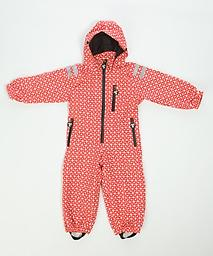 "Ducksday ""All-Weather"" Rainsuit (Funky Red) The original Ducksday rainsuit. Our rainsuits provide a flexible solution for any weather. A must have for little ones in the outdoors."