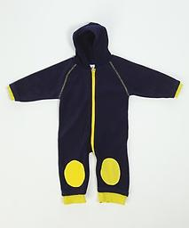 Ducksday Fleece (Blue) Our high-quality fleeces provide a warm layer. Cute on their own for chilly days or paired with our rainsuits, they create a flexible solution for any weather.