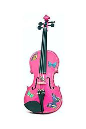 Pink Butterfly Violin Butterfly Dream Lavender violin outfit. This exceptional violin features exceptional artwork rendered by top artists. This classy instrument is beautiful to look at and to hear.