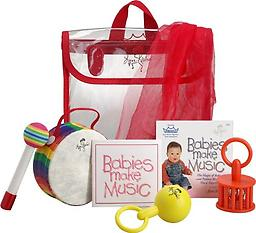 Remo Babies Make Music Kit with DVD The Babies Make Music! Lynn Kleiner series of percussion kits are one of the most durable and highest quality instrument kits available for infants and toddlers