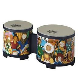 Kids Bongo Drums The Rhythm Club bongos are so cool you just have to put them on the floor and the kids take care of the rest!