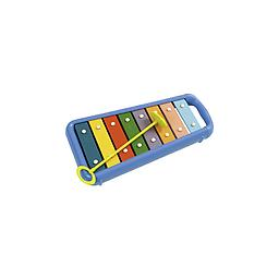 Toddler Glockenspiel Eight multi-colored, precision tuned bars give any toddler room to make bright, colorful sounds.