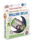 Rolling Shapes Bell Rattle - Playtime just got a little more exciting with this colorful rattle that can be held with both hands