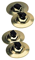 Finger Cymbals Includes 2 pairs of easy to play finger cymbals with elastic holders.