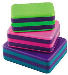 LP RhythmMix Box Shakers This trio will tempt young and old alike with their bright, bold colors, easy-to-grip sizes, and terrific sounding high, medium, and low pitches