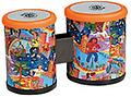 "LP RhythMix Mini Bongos - This two-headed drum stands 6"" tall, with 4"" & 5"" diameter synthetic heads that provide a sturdy playing surface, it's like having two drums in one!"