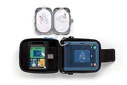 Philips FRx Defibrillator The Philips FRx Defibrillator features technological advancements to help in treating the most common cause of SCA. It is designed to be easy to set up and use, as well as rugged and reliable.
