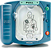 Philips Heartstart OnSite Defibrillator The HeartStart Onsite is the first and only AED available without a prescription, the OnSite is designed to be the easiest to set up and use and the most reliable defibrillator available.