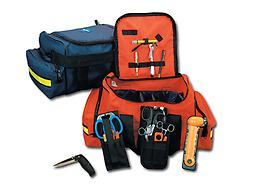 EMI Pro Response 2 Bag The Pro Response 2 Bag is our newest design which can help organize all of of your BLS and advanced medical care equipment. A removable center section has 11 padded compartments with 3 adjustable sect