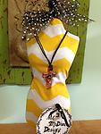 Murano Glass CrossCord Necklace....Orange - Show off your style!!!