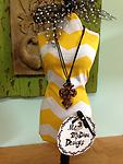 Murano Glass Cross Cord Necklace - Show off your style!!!