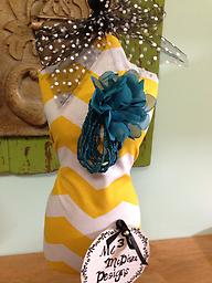 Flower & Bead Stretchable Bracelet...Teal Show off your style!!!