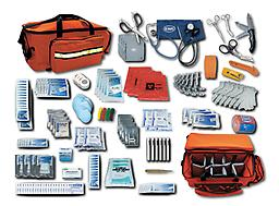EMI Multi Trauma Response Kit Disasters, Multiple Patients, Mass Casualities - Respond with the most complete portable and effective kit available - EMIs Multi Trauma Response Kit !