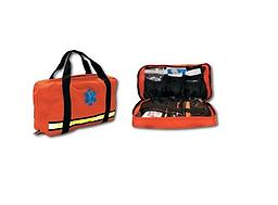 EMI Flat Pac Bag Flat Pacs unique design when completely opened lets it lie flat making visible to the rescuer all equipment and supplies with a quick glance.