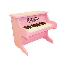 My First Piano - 18 Key Pink A small toy piano designed especially for the very young who have reached the exploratory stage ... from infancy, sitting on someone's lap in front of the keyboard, up to toddler age