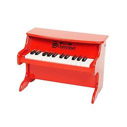 25 Key My First Piano - Red Schoenhuts 25 key tabletop is an excellent choice for a toddlers first piano!