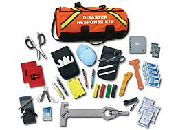 EMI Emergency Disaster Response Kit EMI Emergency Disaster Response Kit allows the rescuer the flexibility to gain access to your victim, proceed with rescue operations, treat, and triage up to 16 patients. FREE Shipping on this product