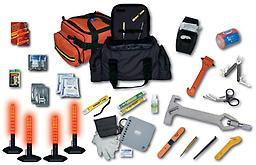 "Road Warrior From rescue tools and first aid supplies to even winter emergency products, ""The Road Warrior; response kit should be an essential part of every law enforcement vehicle or response team."