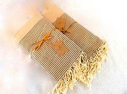 Large Scents & Feel Fouta Towel - Suede 100% Cotton