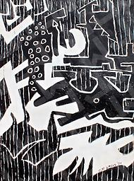 Belly of the Dog (Prints) Acrylic on Canvas, prints