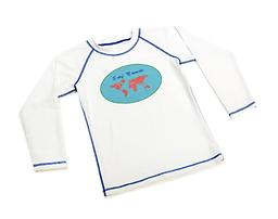 Ducksday Summer Rashguard - Surf Nomad Short-Sleeved Available in long or short (3/4) sleeves, Ducksday rashguards are soft, suitable for salt or chlorinated water, and provide protection from harmful UV rays.