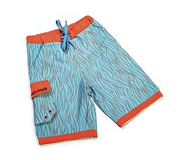 Ducksday Summer Boardshorts - Swirl Ducksday Quick-Dry Boardshorts are made with Feran Ice-Finish fabric, which absorbs and wicks moisture for a cooling effect. These shorts and super-lightweight, quick-drying, and packable!