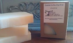 Outside the Box Bug Soap Citronella, Eucalyptus, & Tea Tree oils are as manly as you can get, but at the same time, the ladies love it too. A possible side effect is attracting your own, awesome, outdoors nut! Be warned!