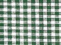 "B5- GINGHAM PATTERNS - Deluxe Flannel Back Vinyl Tablecloth. Order by the roll which is 54"" wide x 15 yards long. The material is reusable and durable for both indoor and outdoor use"